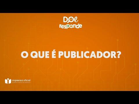 Vídeo: O QUE É PUBLICADOR?