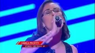 "The Voice Brasil 2015 Camila Profitti ""Price Tag"""