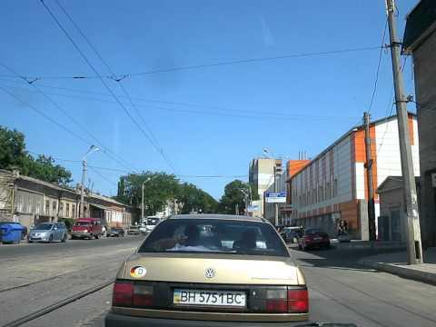 En Odessa el tranvia levanta polvo