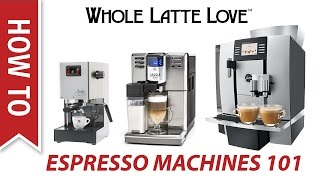 Espresso Machines for Beginners