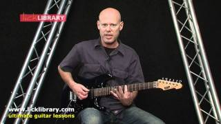 Chickenfoot - Oh Yeah - Intro Riff Guitar Lesson With Danny Gill Licklibrary