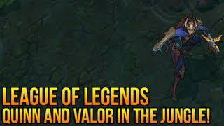 "League of Legends : Quinn and Valor ""Jungle clear time"" (Can she jungle?)"