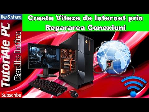 Creste Viteza de Internet prin Repararea Conexiuni