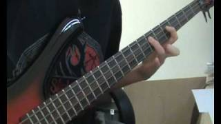 Airbourne - Runnin' Wild (bass cover)