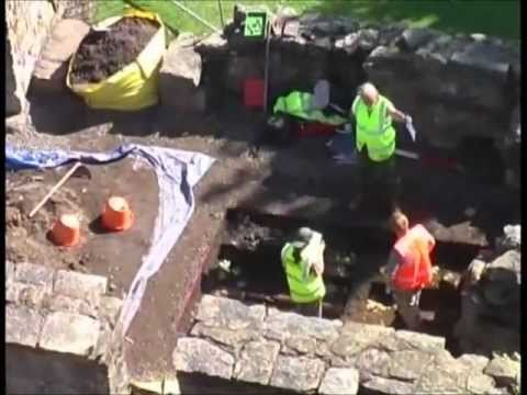 Kilwinning Abbey Dig 2010, part 2