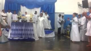 Pastor Luciano Neves.  Santa Ceia Março2016/ Deus Que Tudo Vê. Aracaju-SE