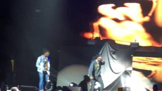 Migos Performing Kelly Price Nobody Safe Tour