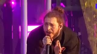POST MALONE - PSYCHO [LIVE ON MTV]
