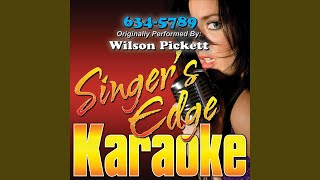 634-5789 (Originally Performed by Wilson Pickett) (Karaoke)