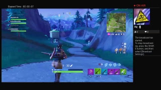 Thot giving me sloppy top while i play Fortnite