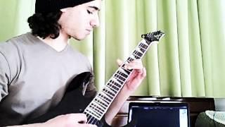 Skrillex - Bangarang (ft. Sirah) - Guitar Cover