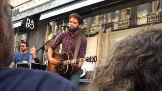 Passenger - I Hate (HD) (Live Acoustic Busking @ Strøget, Copenhagen) 10-07-14