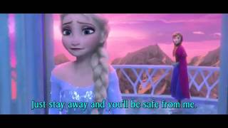 FROZEN - For the First Time in Forever Anna and Elsa - Official Disney (3D Movie Clip) - With Words