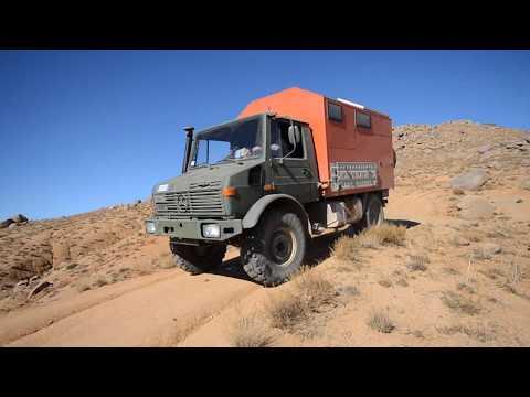 Unimogging to Morocco – Kamillo Unimog travel in the desert
