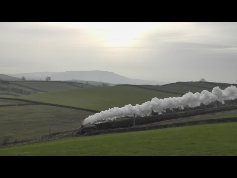 60009 on 'The Winter Cumbrian Mountain Express' 16th February 2013