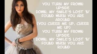 Victoria Justice - Cheer me up ( Lyrics On Screen ) ( Full Song )