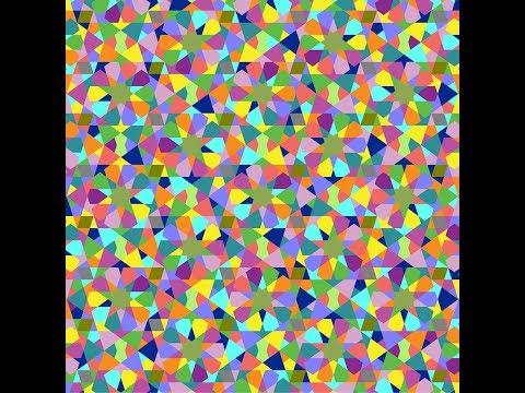 伊斯蘭的幾何拼貼 12B
