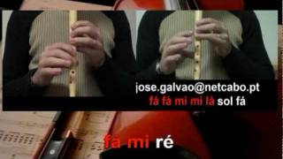 Brincando com o Fogo - Rita Guerra e Beto - Karaoke para flauta - EducacaoMusical - Jose Galvao.mpg
