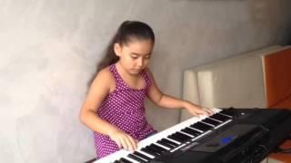 El padre nuestro, (melodía interpretada en piano)  Luz Ammy