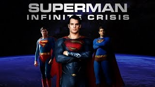 Superman Infinite Crisis Trailer (Christopher Reeve, Brandon Routh, Henry Cavill)