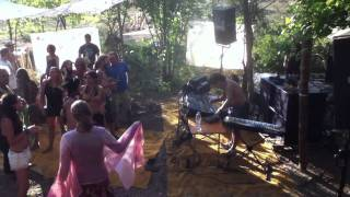 eat static-live in croatia (lost theory festival) chill area
