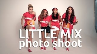 Little Mix photo shoot behind the scenes