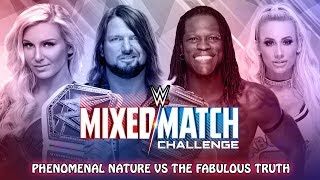 WWE MIXED MATCH CHALLENGE | MATCH CARD PREDICTION