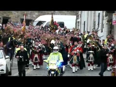 Royal Regiment of Scotland, Stirling