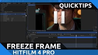 Freeze Frame Effect Tutorial in Hitfilm