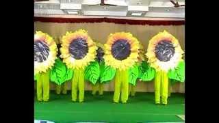 Flower dance 2012 - st.xavier's Lourthusamy-thoothukudi-tamilnadu-india.
