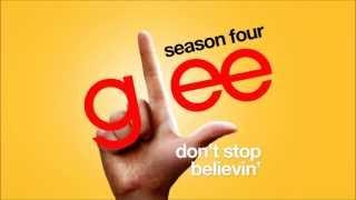 Don't Stop Believin' (Rachel's Audition) - Glee Cast [HD FULL STUDIO]