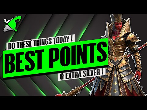 GET THE BEST POINTS... THINGS YOU SHOULD DO TODAY!! | Mother Cybele Day 7 | RAID: Shadow Legends