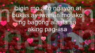 Sa aking Pag-iisa - Regine Velasques With Lyrics