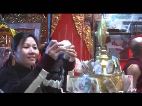 LDC Pilgrimage in Nepal wt Geshe Zopa (2009)-03/12.mov