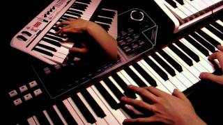 Baba O'Riley - Synth and Piano Cover (played live)