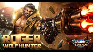 Mobile Legends: Bang bang! New HeroMobile Legends: Bang bang! |Dire Wolf Hunter - Roger| Gameplay