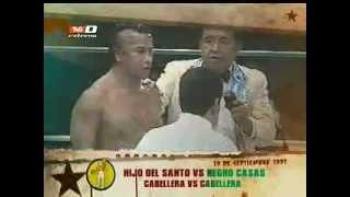 La Lucha Se Hizo: Hijo del Santo vs Negro Casas, máscara vs cabellera (19-09-2012)