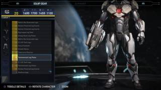 Injustice 2 - Cyborg Epic Gear Showcase/ Special Moves