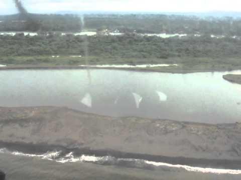 San Juan de Nicaragua desde un MI17