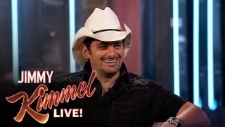 Brad Paisley's Trip on Air Force One