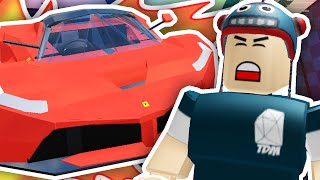 DESTROYING $100,000,000 CARS!! | Roblox