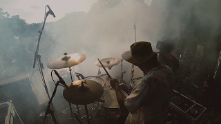 THIRTEEN - We Are The Mountain live at Hai Day 2017 (drum cam)