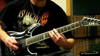 Disturbed- Inside The Fire Guitar Cover