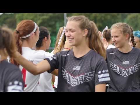 Video Thumbnail: 2016 WFDF World Junior Championships: Team USA Finals Highlights