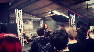 Within Destruction *NEW SONG* live at Techfest