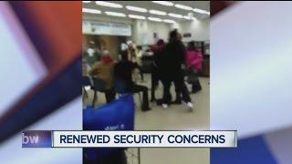 VIDEO: 3 arrested after fight inside Rath Building