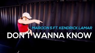 Don't Wanna Know - Maroon 5 ft. Kendrick Lamar | DANCE VIDEO | Sparkles Lund Choreography
