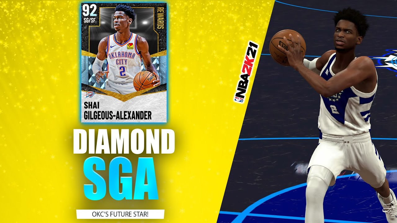 Bud22089 - Diamond Shai Gilgeous-Alexander Gameplay! OKC's Future Star Delivers In Clutch - NBA 2K21 MyTeam