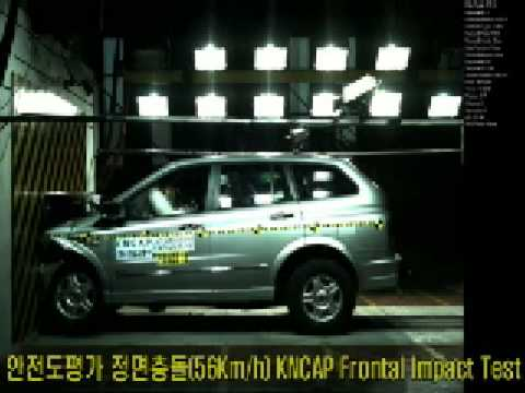 SsangYong Kyron 2WD 2006 Korean NCAP crash test
