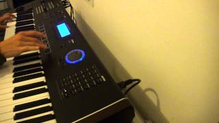 Hey you - Little Pony Pony Run Run cover with Kurzweil PC3LE6 keyboard